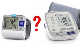 vérnyomásmérés - csuklón és felkaron