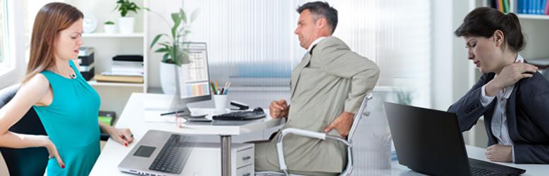 A hátfájás oka az ülő életmódban és kevés mozgásban keresendő